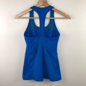 Lululemon Athletica Blue Athletic Tank Top Size 4